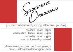Scooters Originali | Allentown, PA