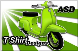 Vintage Scooter Designs by Anthony Armstrong